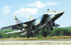 Fly the MiG-31 Foxhound